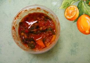 Jenn's Smokey Lentil Chard Soup