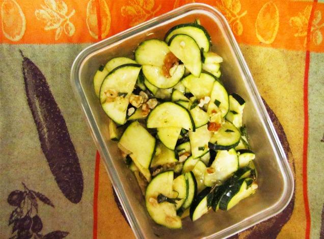 Jenn Zucchini Salad